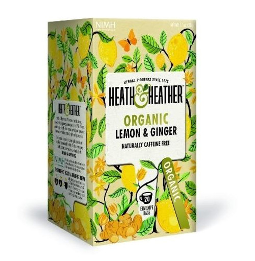 Heath and Heather Organic Lemon and Ginger Tea