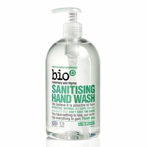 Bio-D Sanitising Rosemary and Thyme Hand Wash