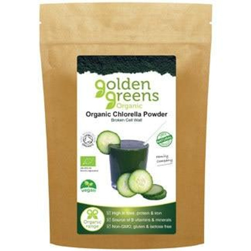 Golden Greens Organic Chlorella Powder