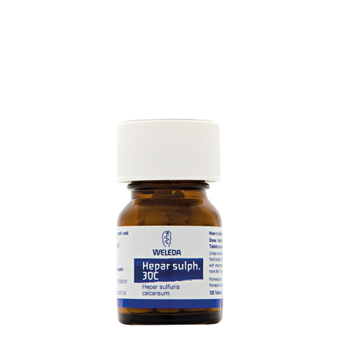 Weleda Hepar Sulph Homeopathic - 30c