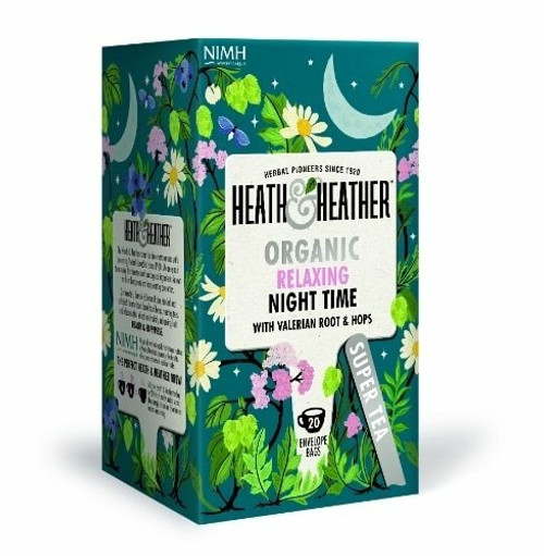 Heath and Heather Organic Night Time