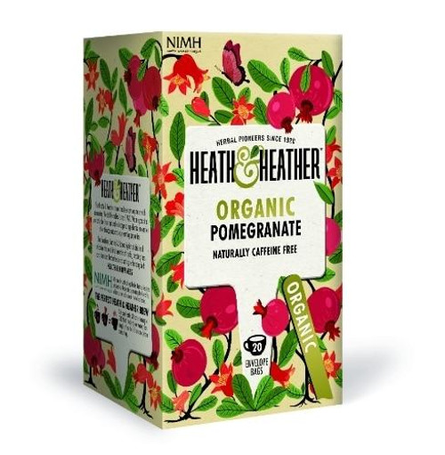 Heath and Heather Organic Pomegranate Tea