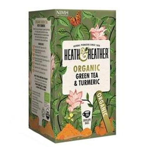 Heath and Heather Green Tea with Turmeric