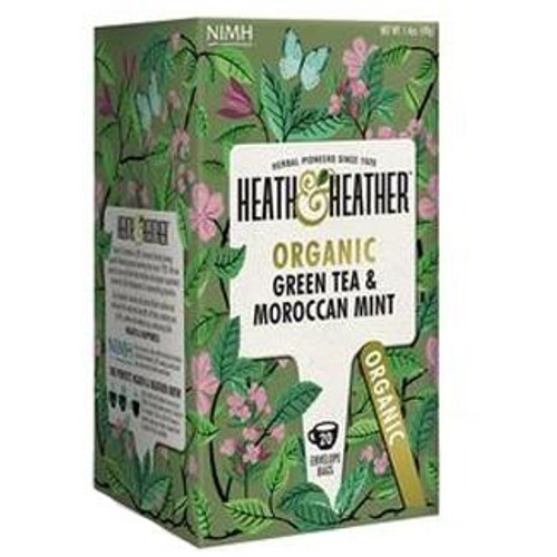 Heath and Heather Green Tea with Moroccan Mint