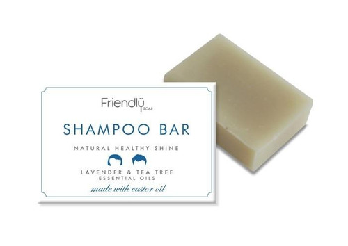 Friendly Soap Shampoo Bar,Lavender and Tea Tree