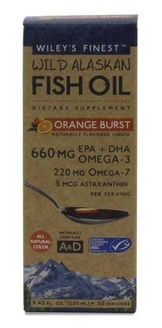 Wileys Orange Burst Liquid Fish Oil