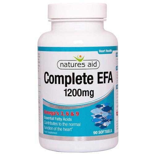 Natures Aid Complete EFA Omega 3 6 9