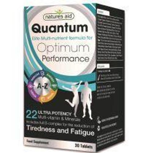 Natures Aid Quantum Ultra Potency Multi-Vitamins and Minerals