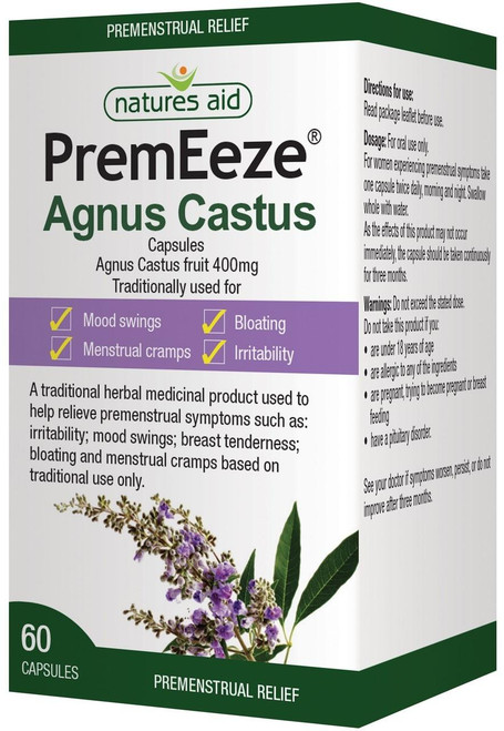 Natures Aid PremEeze Agnus Castus