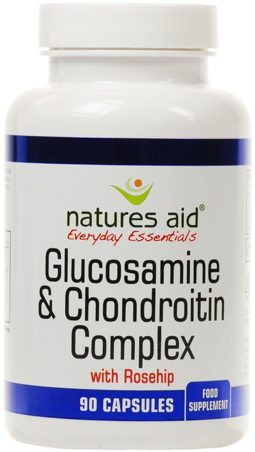 Natures Aid Glucosamine and Chondroitin Complex 100mg