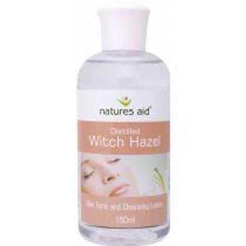 Natures Aid Witch Hazel Distilled