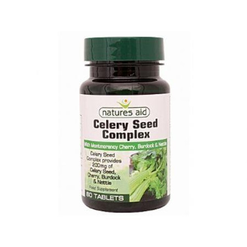 Natures Aid Celery Seed Complex with Cherry