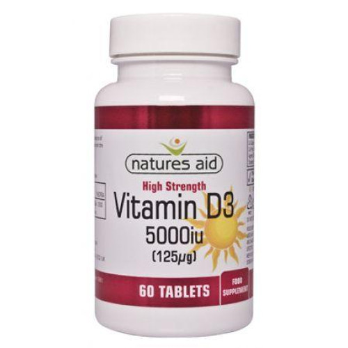 Natures Aid Vitamin D3 5000iu