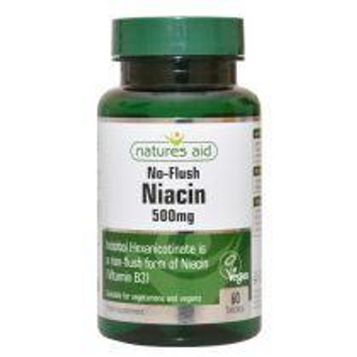 Natures Aid Niacin Non-Flush Vitamin B3