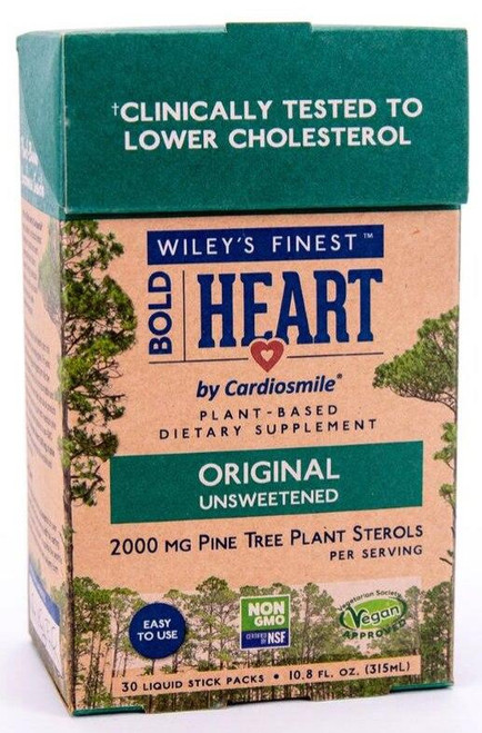 Wileys Bold Heart Plant Sterols