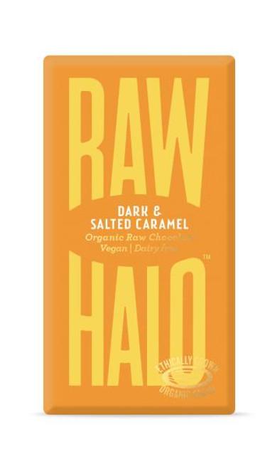 Raw Halo Dark and Salted Caramel