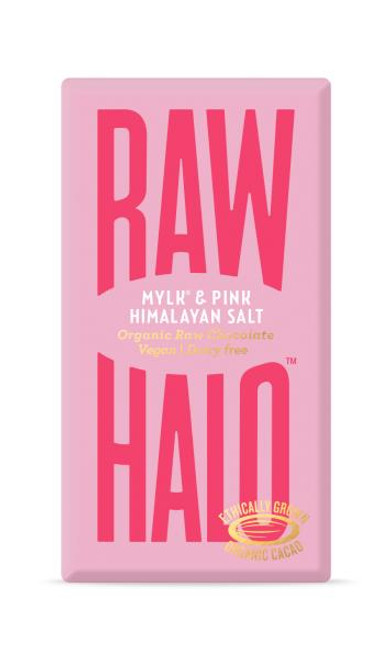 Raw Halo Mylk and Pink Himalayn