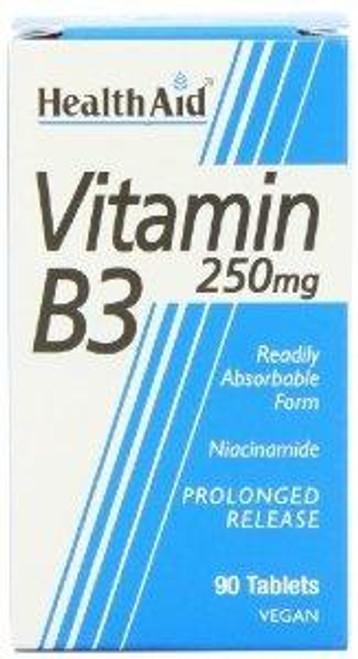 HealthAid Vitamin B3 - Prolonged Release