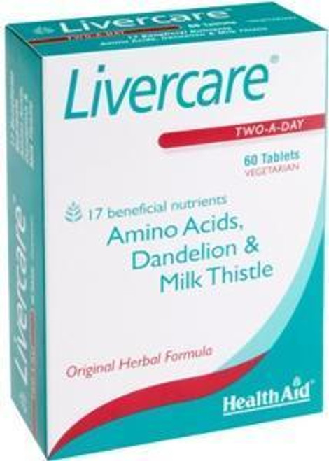 HealthAid Livercare Two A Day