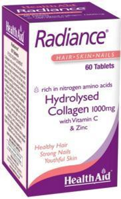 HealthAid Radiance - Hydrolysed Collagen with Vit C