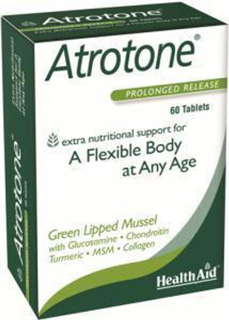 HealthAid Atrotone with Green Lipped Mussel MSM Collagen Type II
