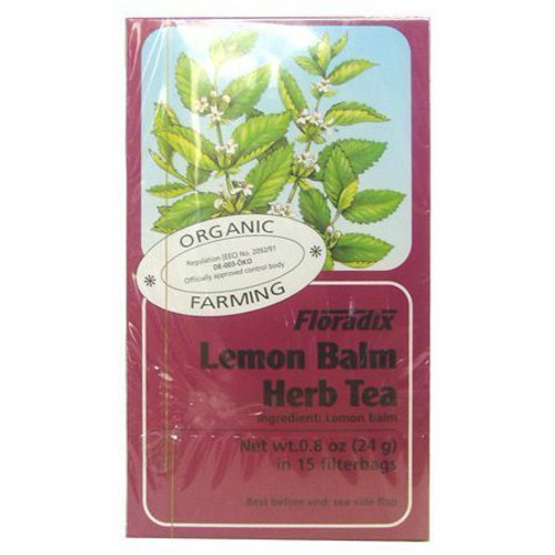 Salus Organic Lemon Balm Herbal