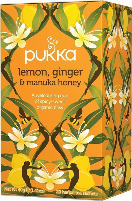 Pukka Lemon Ginger and Manuka Honey Tea