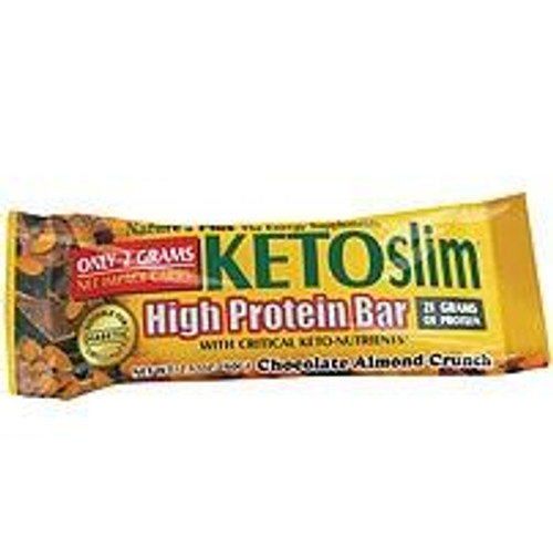 Natures Plus Natures Plus KETOslim Choc Almond Crunch Bar