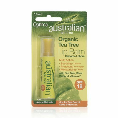 Optima Australian Tea Tree Lip Balm SPF 15 - Organic
