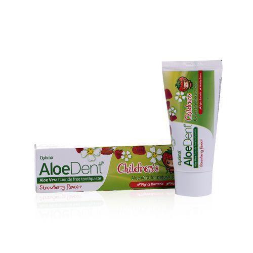 Aloe Dent Childrens Toothpaste Strawberry