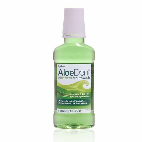 Aloe Dent Fluoride Free Aloe Vera Mouthwash