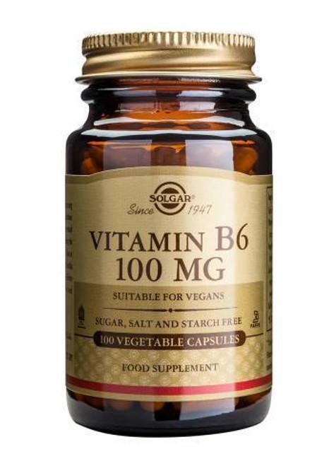 Solgar Vitamin B6 100mg