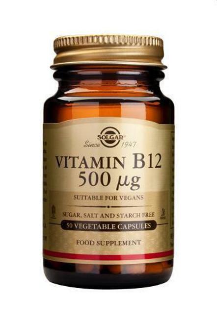Solgar Vitamin B12 500ug,