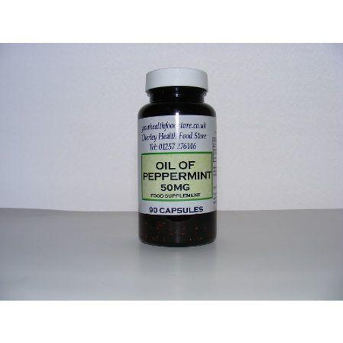 Yourhealthfoodstore Peppermint Oil 50mg