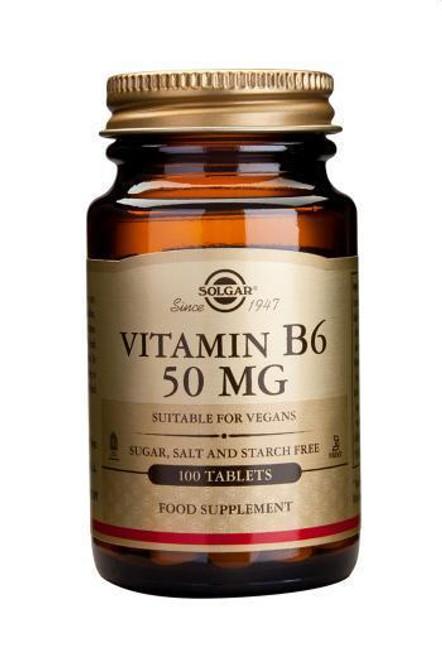 Solgar Vitamin B6 50mg,