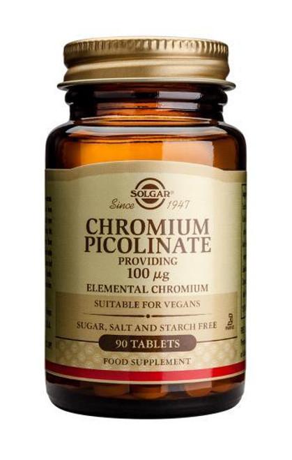 Solgar Chromium Picolinate 100ug