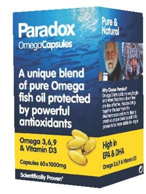 Paradox Paradox OmegaCapsules - Omega 3 6 9 and Vitamin D3