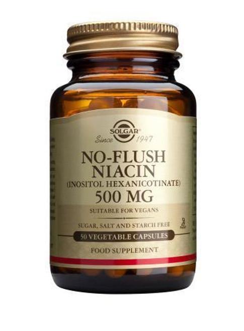 Solgar No-Flush Niacin Inositol Hexanicotinate