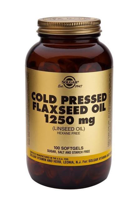 Solgar Cold Pressed Flaxseed Oil