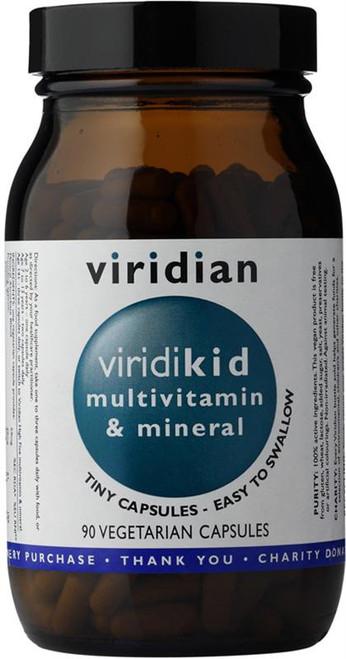 Viridian ViridiKid Multivitamin and Mineral