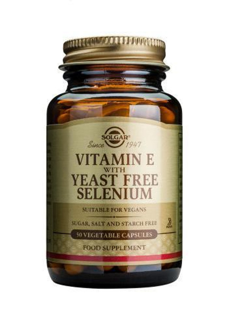 Solgar Vitamin E with Yeast Free Selenium