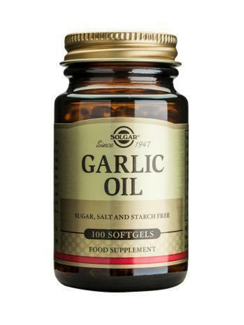 Solgar Garlic Oil - Reduced Odour
