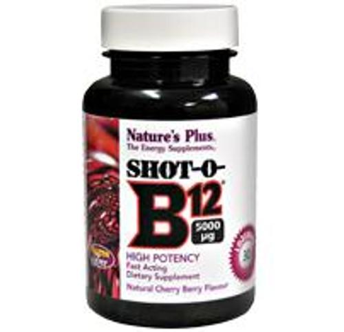 Natures Plus Shot-O-B12