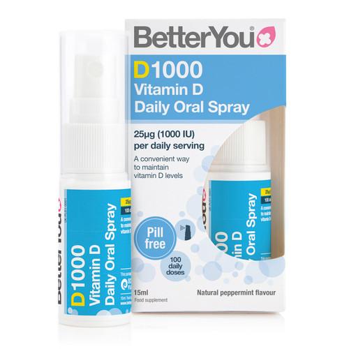 BetterYou DLux1000 Vitamin D Oral Spray