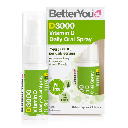 BetterYou DLux3000 Vitamin D Oral Spray