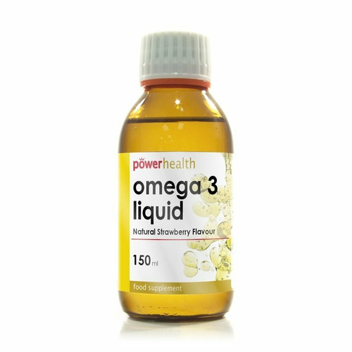 PowerHealth Omega 3 Liquid for Children Natural Strawberry Flavour