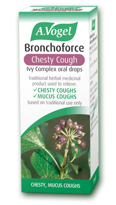 AVogel Bronchoforce Chesty Cough Ivy Complex Oral Drops
