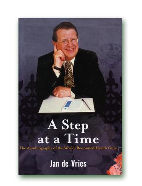 Jan de Vries A Step at a Time Hardback Book