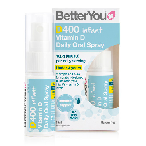 BetterYou DLuxInfant Vitamin D Oral Spray