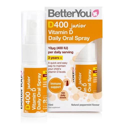 BetterYou DLuxJunior Vitamin D Oral Spray